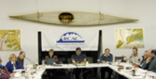 Council board meeting in Cordova.
