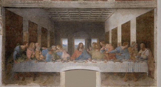 The Last Supper – Leonardo da Vinci.