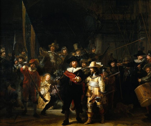 The Night Watch – Rembrandt van Rijn