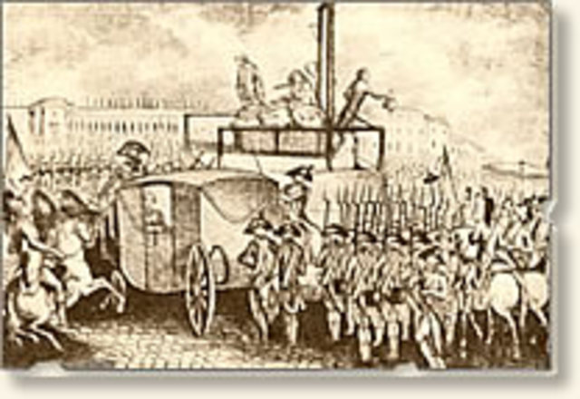 why louis xvi was executed in