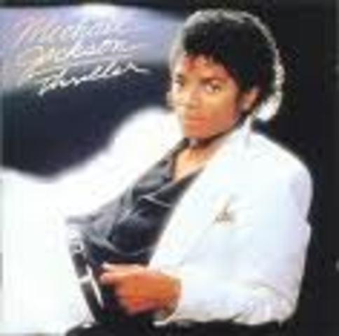 Michael Jackson releases thriller.