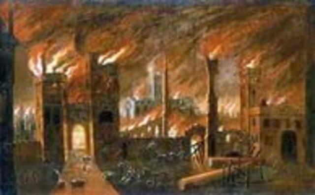 Лондонский пожар