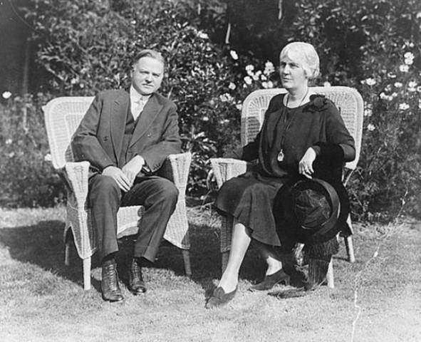 President Herbert Hoover Wife.