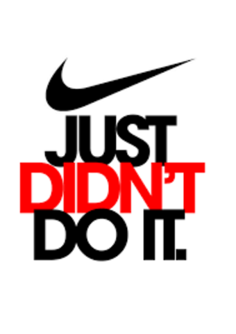 A Not So Happy Ending for Nike