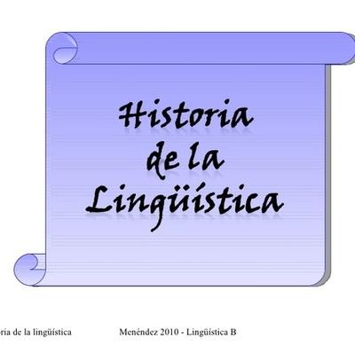 linea de tiempo historia de la linguistica timeline
