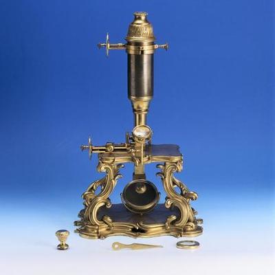 Histoire du microscope timeline