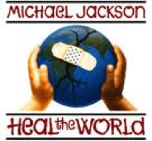 Michael Jackson creates the heal the world foundation