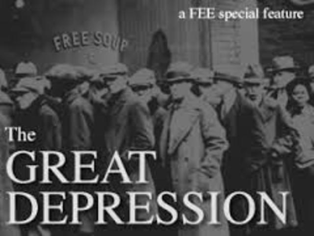 The Great Depression by Jacqueline Calixtro timeline ...