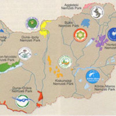 Magyarország nemzeti parkjai timeline