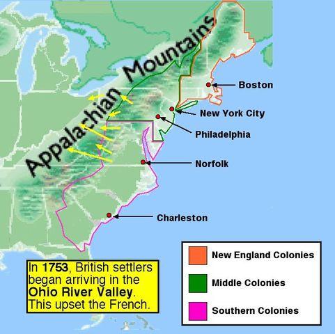 Map Of North America 1763.British North America 1763 1783 Timeline Timetoast Timelines