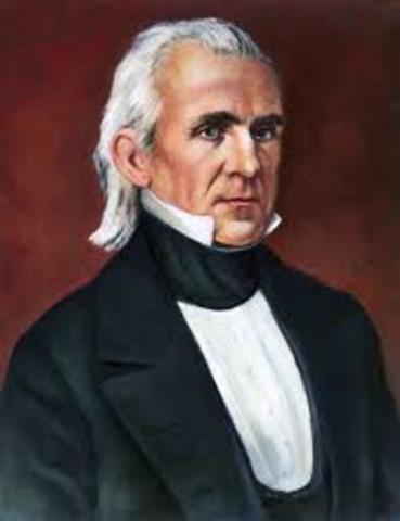 James K. Polk elected President