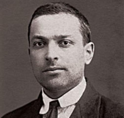 Vygotsky formuló una teoría a fines de los años veinte.