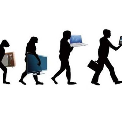 The evolution of technology timeline