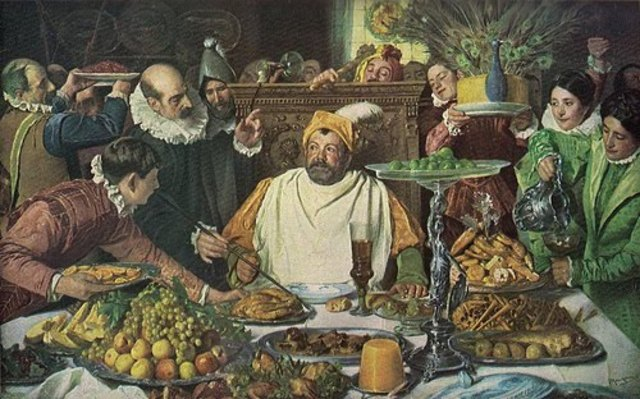 Sancho Panza y su ínsula