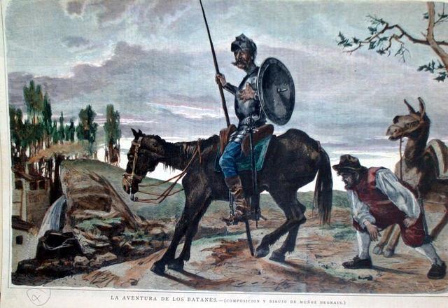 Don Quijote y los batanes