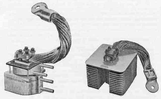 Rectificadores de selenio y rectificadores de arco de mercurio gigantes