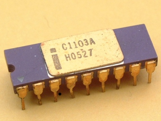 First RAM Chip invented