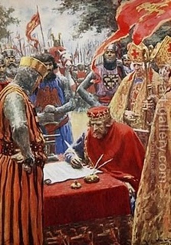 La carta magna 1215