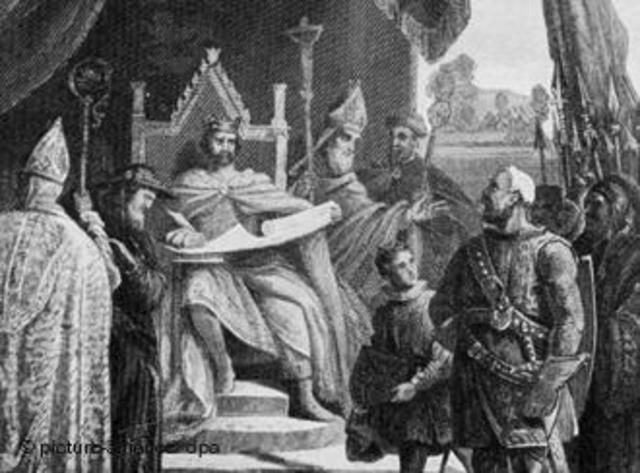 La carta magna 1215:economía