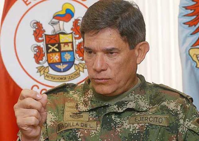 Instrucción fiscal para Freddy Padilla