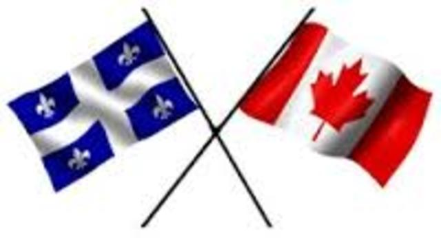 relationship between french english canadians