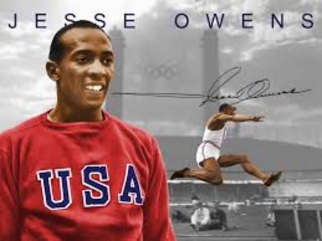 Information about Jesse Owens