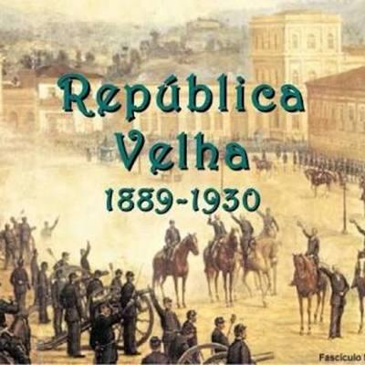 República Velha timeline