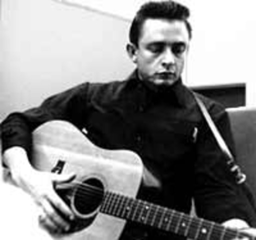 "Johnny Cash releases  ""I Walk the Line"""