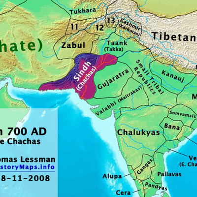 Islam Conquest of South Asia timeline
