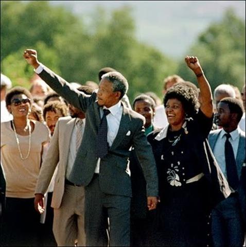 Mandela es liberado de prisión