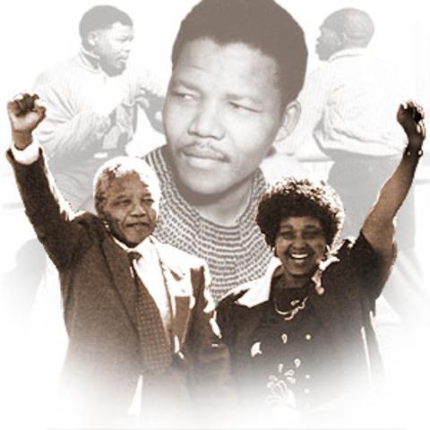Mandela es declarado presidente