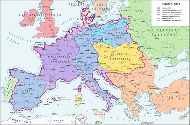 Η Ευρώπη των αυτοκρατοριών