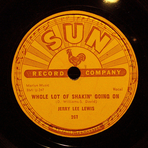 "Jerry Lee Lewis release the hit song ""Whole Lotta Shaking Going On"""