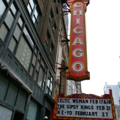 The Chicago Theatre: from plaster to formica and back again timeline
