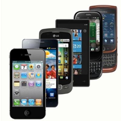 Origen y Evolución de los smartphones timeline