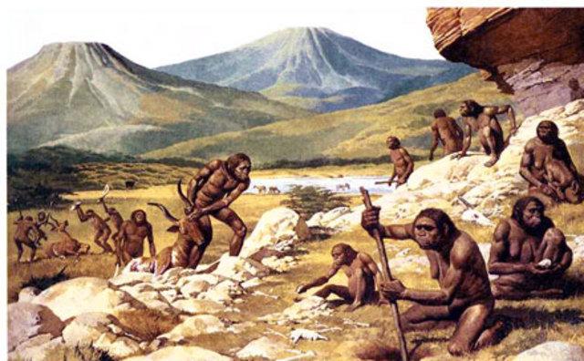 Prehistoria  4millones de años a.c.