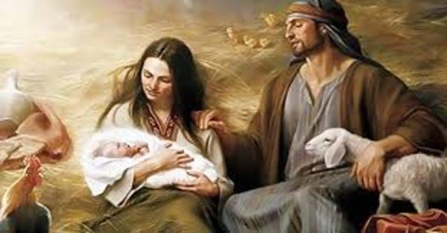 Nacimiento de Cristo 0 d.c.
