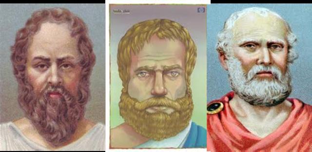 360 a.c. Platon, Sócrates y Aristóteles
