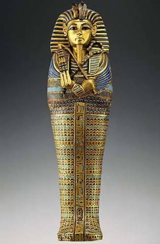 Muere Tutankamón, faraón egipcio     1337 a.C
