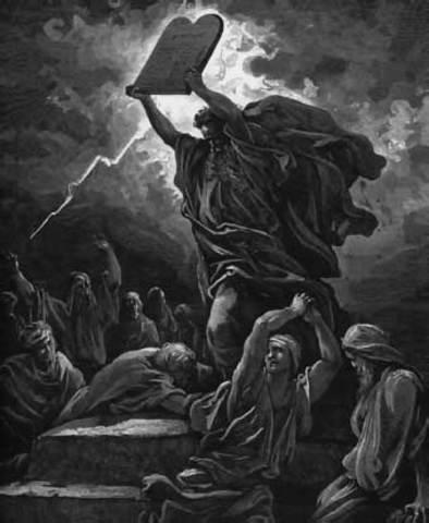 Muerte de Moises Profeta Hebreo1473 a.c.