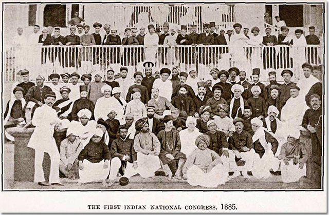 The formation of the Indian National Congress
