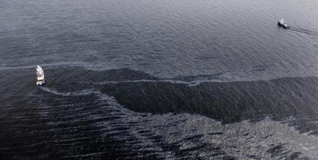 Derrame de Petróleo en el Golfo de Mexico