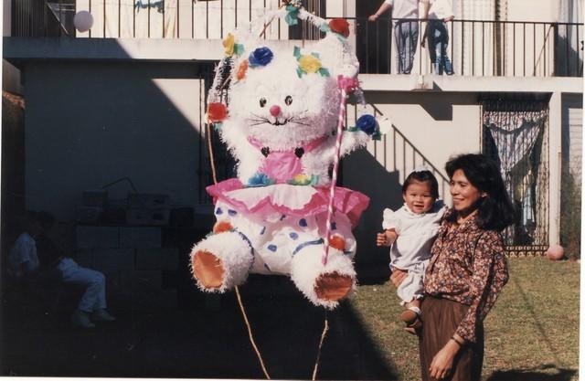 Mi primera piñata!! :)