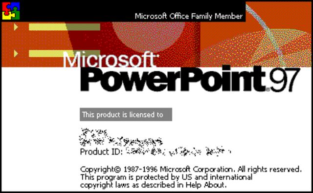 PowerPoint 97