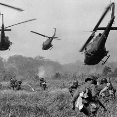 The Cold War - Korean War to Fall of Saigon timeline