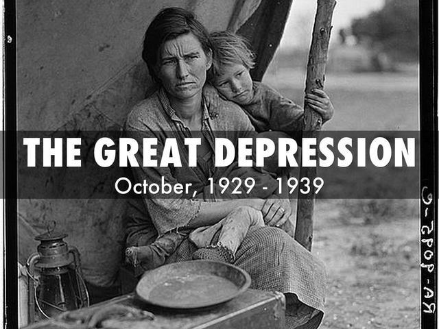 a history of the great depression and world war ii The great depression and world war ii (1929-1945) standard 1: the  causes of the great depression and how it affected american society standard.