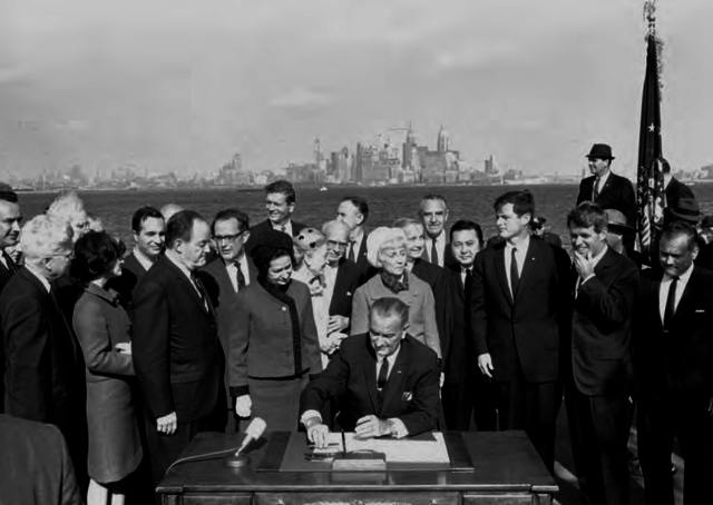 1965- Immigration Reform Act