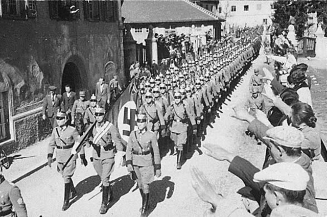 Hitler Sends the German Army to Austria