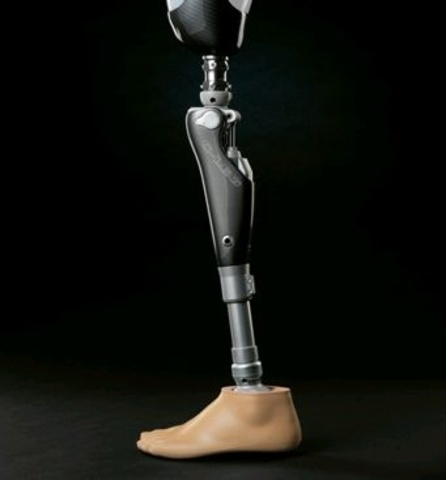Electronic prosthetic limbs