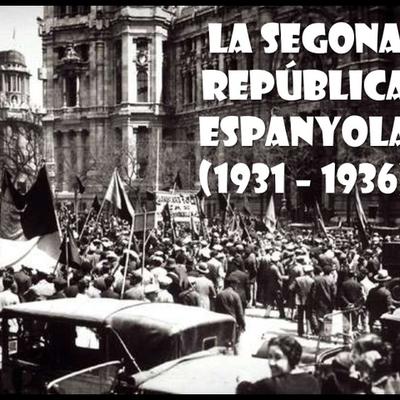 Segona República timeline